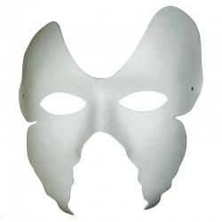 Masque Ailes de Papillon en plâtre cartonné - 160x180x70mm - Set de 2