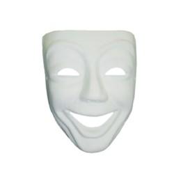 Masque de Venise Sourire en plâtre - 180x220x90mm