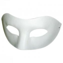 Masque loup en plâtre - 190x100x80mm - Set x2 pcs