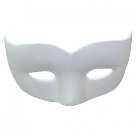 Masque de Venise loup enfant en plâtre - 130x60x60mm