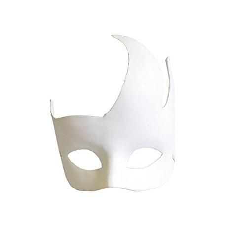 Masque flammes en plâtre - 170x180x60mm