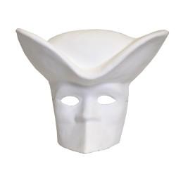 Masque Maitre musique en plâtre - 310x260x110mm
