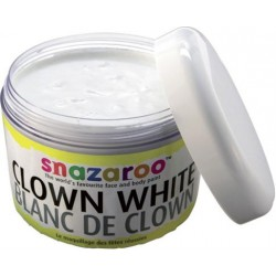 Maquillage blanc de clown