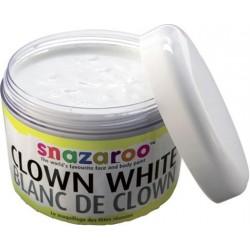 Maquillage blanc de clown