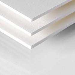Carton plume à texture toilé Kapa Tex 5mm