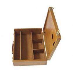 Boîte de rangement en bois Hervé Box - 42x32x9,5 cm