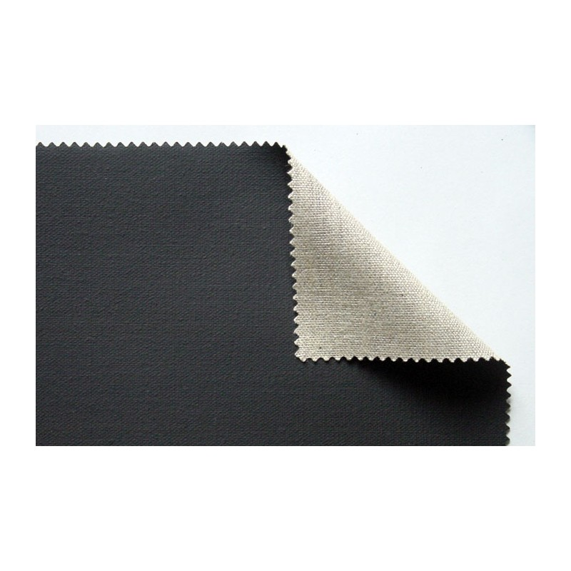 ch ssis entoil lin noir toile lin noir grain moyen. Black Bedroom Furniture Sets. Home Design Ideas