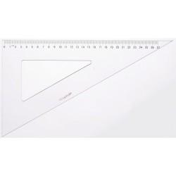 Equerre plastique 30°+60° Graph'it - 30cm