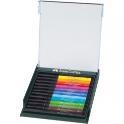 Coffrets 12 feutres Pitt Artist Pen Brush assortis