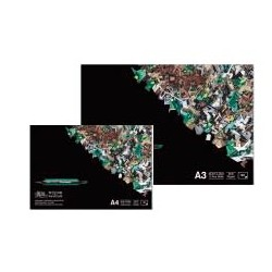Blocs papier layout Bleedproof 75g/m², 50 fls collées 1 côté