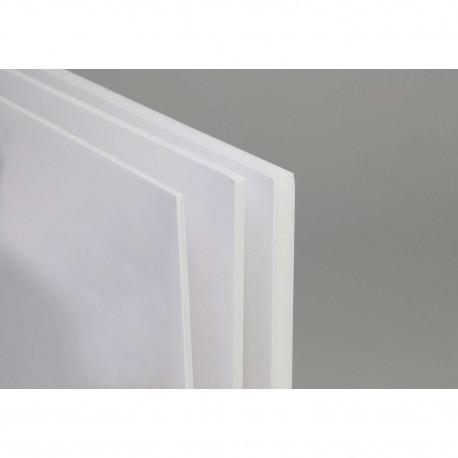 Carton mousse blanc 5mm, plaque 100x140cm