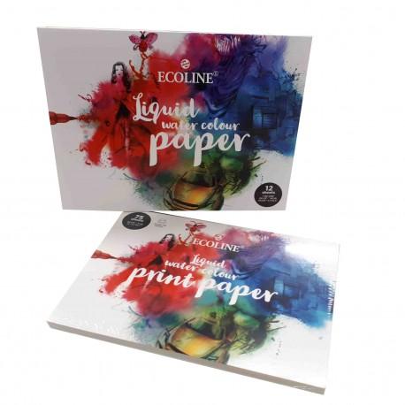Blocs de papier pour encre aquarelle Ecoline