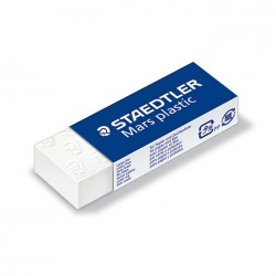 Gomme blanche Mars Plastic