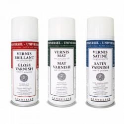 Vernis universel anti-UV Sennelier, aérosol 400ml