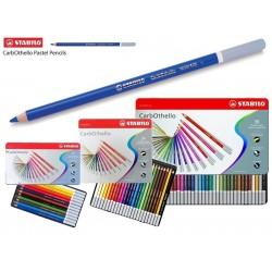Boîtes en métal crayons pastel aquarellables Carbothello