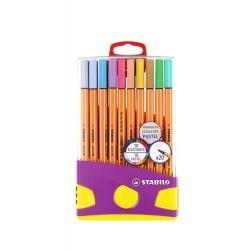 Boîtes ColorParade de 20 feutres Pont 88