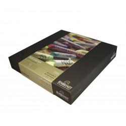 Coffret Master pastels Rembrandt : 60 pastels entiers + 60 demi-pastels
