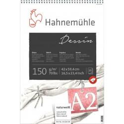Blocs papier esquisse Dessin 150g/m², 25 fls spiralées