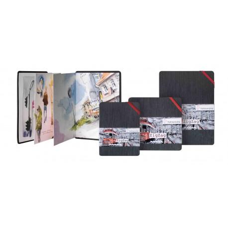Livres aquarelle ZIGZAG Book 300g/m², 18 pages