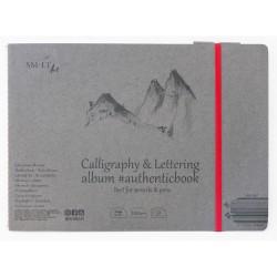 Carnet Calligraphie et Lettering SM.LT - 100g/m²