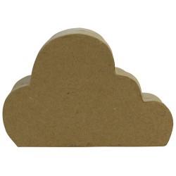 Boîte nuage M en papier mâché