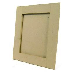 Cadre carré plat 30x30cm en papier mâché
