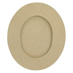 Cadre ovale S en papier mâché