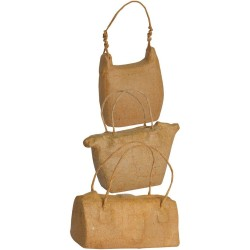 3 sacs avec cordon