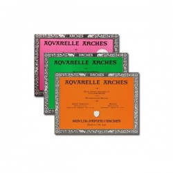Bloc aquarelle Arches 300g/m², 20 fls co