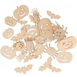 Mini silhouette en bois x30- Halloween