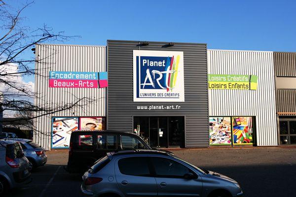 Planet'Art, magasin spécialisé dans la vente d'article beaux-arts, loisirs créatifs et encadrement